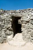 Ancient Mayan pyramid — Stock Photo