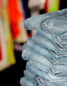 Pile de jeans — Photo