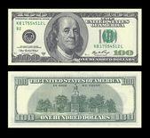 100 dollars — Stock Photo
