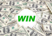Win Money — Stock Photo