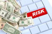 Risico online inkomen niet veilig online aankopen — Stockfoto