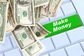 Make money online — Stock Photo