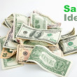 Stock Photo: Creative Sales Money Idea