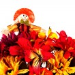 Fall Basket Centerpiece — Stockfoto