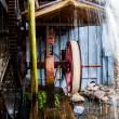 Close Up Of Water Wheel — Stock Photo