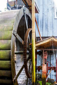 Large Water Wheel — Stockfoto