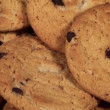 Stock Video: Chocolate Chip Cookies Closeup