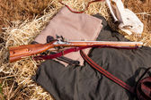 Civil War Rifle — Stock Photo