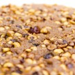Egyptian dessert with hazel nuts — Stock Photo