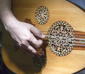 Oud Player — Stock Photo