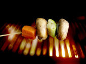 Grilovaná zelenina — Stock fotografie