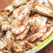 Prepared shrimps — Stock Photo