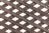 Detail of a wooden fence — Stock Photo