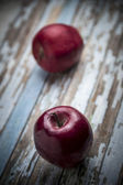 Rojo manzana fresca — Foto de Stock
