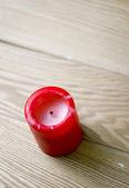 红蜡烛 — 图库照片
