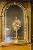 Antique orthodox icon Virgin Mary — Foto Stock