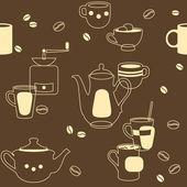 Café sans soudure — Vecteur