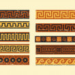 Set of greek pattern - Stock Vector