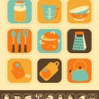 Kitchen Icon Set — Stock Vector #12834069