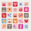 Royalty-Free Stock Vector Image: Holidays Icons