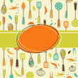 Kitchen Background - Stock Vector