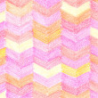 Stock Photo: Colorful crayon drawing pattern