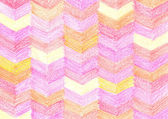 Colorful crayon drawing pattern — Stock Photo