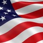 American Flag — Stock Video