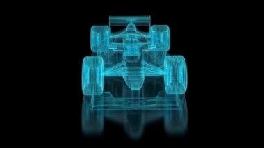 Formula One Mesh — Stock Video