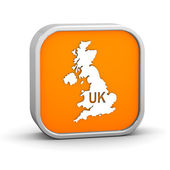 International country code sign - United Kingdom — Stock Photo