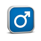 Male Sign — Stock Photo