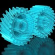 Mesh gears — Stock Photo #22641633