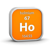 Holmium material sign — Foto de Stock