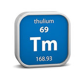 Thulium material sign — Foto de Stock