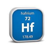 ハフニウム材質記号 — ストック写真