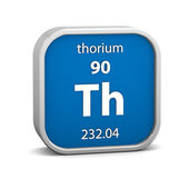 Thorium material sign — Stock Photo