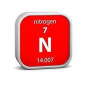 Nitrogen material sign — Stock Photo