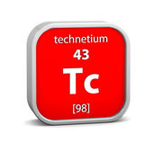 Technetium material sign — Stock Photo