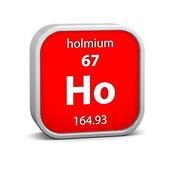 Holmium material sign — Stock Photo