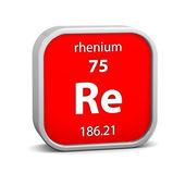 Rhenium materiella tecken — Stockfoto