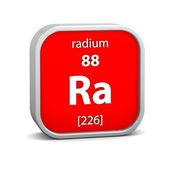 Radium materiella tecken — Stockfoto