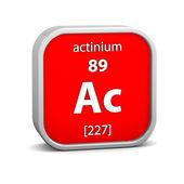 アクチニウム材質記号 — ストック写真