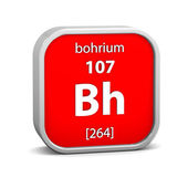 Bohrium material sign — Stockfoto