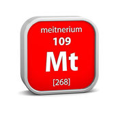 Meitnerium material sign — Stock Photo