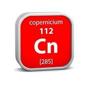 Materiální znak copernicium — Stock fotografie