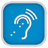 Assisted Listening System Sign — Stock Photo