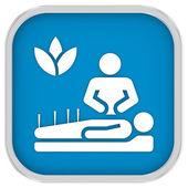 Signo de medicina alternativa — Foto de Stock