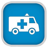 Ambulance Sign — 图库照片
