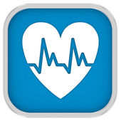 Cardiology Sign — Stockfoto