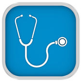 Stethoscope Sign — Stockfoto